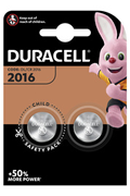 Duracell Duracell, lot de 2 piles spéciales lithium 2016 3 Volts, DL2016/CR2016