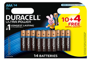 Duracell ULTRA POWER AAAX10+4