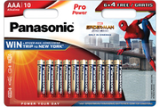 Panasonic LR03 6+4 SPIDERMAN