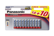 Panasonic LR03 AAA Every Day Power 10+10
