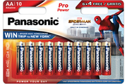 Panasonic LR6 6+4 SPIDERMAN