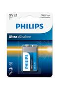 Philips PILES ULTRA ALCALINE LR6 9V X1