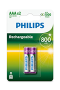 Philips PILES RECHARGEABLE AAA LR03 800 MAH