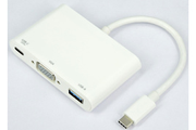 It Works HUB USB-C 3 en 1 VGA/USB3/USB-C(F)