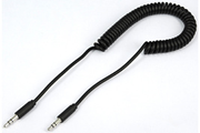 Temium CABLE TWIST AUDIO 1,8M NOIR