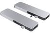 Hyperdrive GN21D - 7-Port USB Type-C Hub - Argent