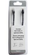 Temium CORDON TELEPHONIQUE 5 M RJ11 MALE / RJ11 MALE