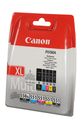 Canon PACK 550XL/CLI-551