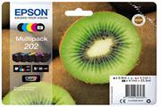 Epson 202 Mpack Ink (PBK,BK,C,M,Y) RF/AM Tag