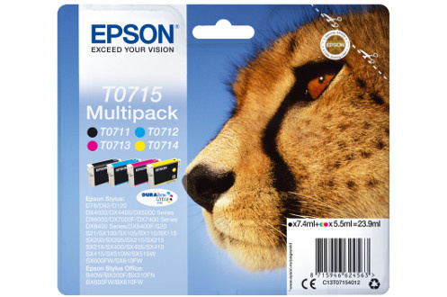 Epson MULTIPACK 4 COULEURS T0715
