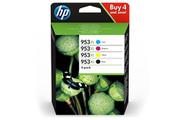 Hp Pack 4 couleur 953XL