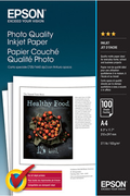 Epson Photo Quality Inkjet Paper - A4 - 100 Feuilles