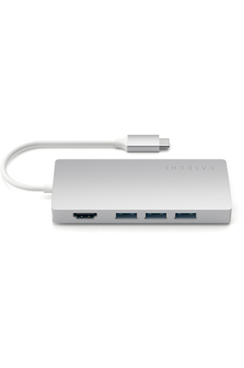Satechi Adaptateur Multiport Type-C 4K Ethernet Silver