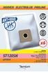 Temium ST120SN ANTI-ODEUR 6 SACS