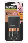 Duracell Chargeur 45min de 4 piles AA/AAA