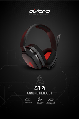 Logitech Astro A10 Headset for PC