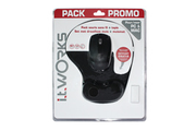 It Works Pack Souris + Tapis Ergonomique