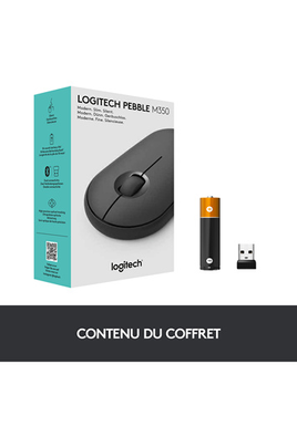 Logitech PEBBLE M350 - GRAPHITE - EMEA