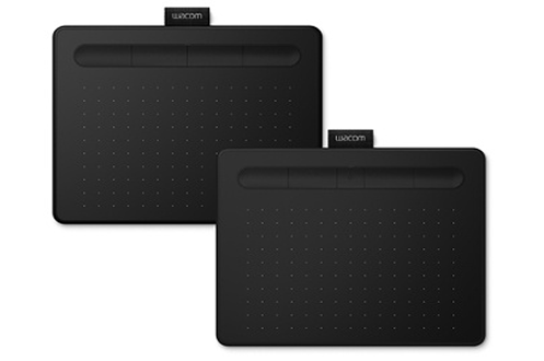 Wacom Tablette Wacom Intuos Noir avec Stylet Medium Bluetooth
