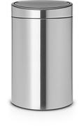 Brabantia TOUCH BIN 40L MATT STEEL SILENT