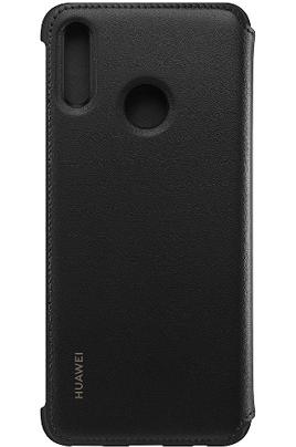 Huawei Etui à rabat noir pour smartphone huawei PSMART 2019