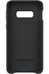 Samsung Coque Cuir pour Samsung Galaxy S10e Noir photo 2