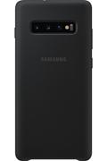 Samsung Coque Silicone ultra fine pour Samsung Galaxy S10+ Noir