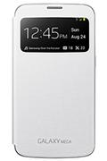 Samsung ETUI CLEAR GALAXY MEGA BLANC