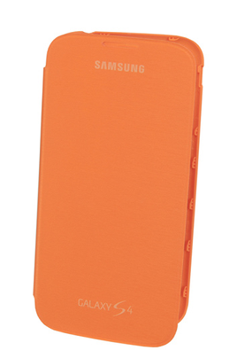 Samsung ETUI FOLIO GALAXY S4 ORANGE