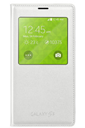Samsung Etui S view Cover Blanc pour Galaxy S5