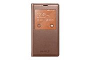 Samsung Etui S view Cover Rose-Gold pour Galaxy S5