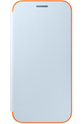 Samsung ETUI FLIP NEON BLEU POUR SAMSUNG GALAXY A3 2017