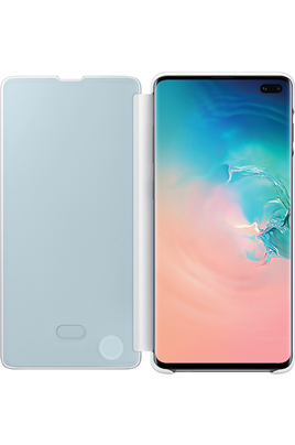 Samsung Clear View Cover pour Samsung Galaxy S10+ Blanc