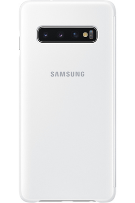 Samsung Clear View Cover pour Samsung Galaxy S10 Blanc