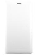Samsung ETUI FLIP WALLET BLANC POUR GALAXY NOTE 4