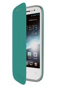 Wiko Folio Turquoise pour Wiko Cink Slim 2