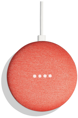 Google HOME MINI CORAIL