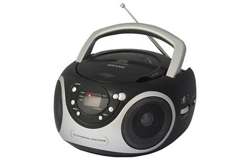 Tuner analogique FM20 plages programmablesEntrée auxiliaire - Prise casqueFormats lus : CD, CD-R, CD-RW