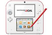 Nintendo 2DS BLANC + ROUGE