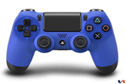 Sony Manette sans fil DualShock 4 bleue