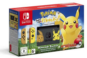 Nintendo Switch Pokemon + Pokemon Let's Go Pikachu