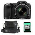 Nikon COOLPIX L830 NOIR + ETUI + SD 4 Go