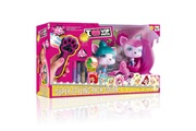 IMC TOYS Figurines VIP Pets à coiffer : Pack Super Styling Color