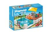 PLAYMOBIL Playmobil 5575 : Piscine avec terrasse