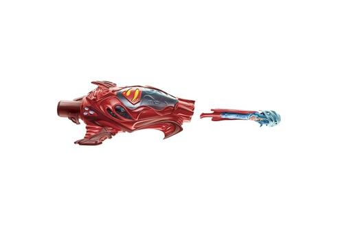Mattel Lanceur avec figurine superman : rouge