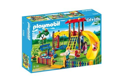 PLAYMOBIL Playmobil 5568 : square pour enfants avec jeux