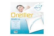 SOLEIL D OCRE Oreiller confort anti-acarien 60x60 cm