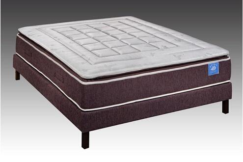 belle literie benoist ensemble latex surmatelas cousu 140 x 190 cm charme ii. Black Bedroom Furniture Sets. Home Design Ideas