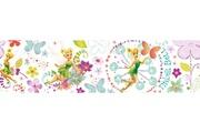 DECOFUN Frise disney fée clochette fairytale garden