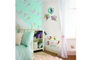 DECOFUN Rouleau papier peint pixie dust fée clochette disney fairies
